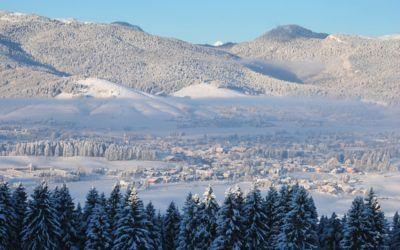 Prima nevicata sull'Altopiano!
